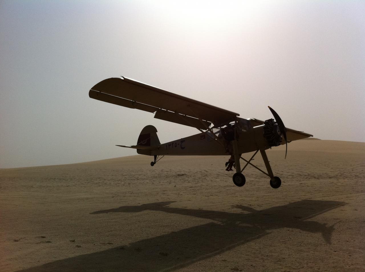 11 Desert du Qatar tournage du film