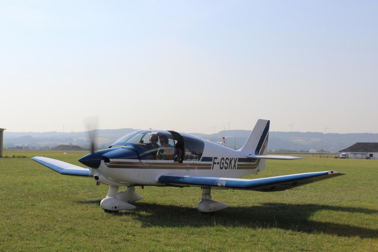 19 Atterrissage à l'aerodrome