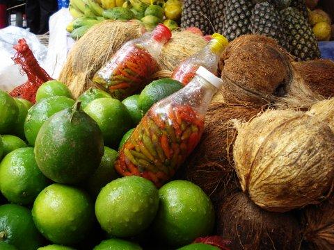 20 Etal de fruits exotiques
