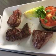 Assiette du boucher et son tian de légumes