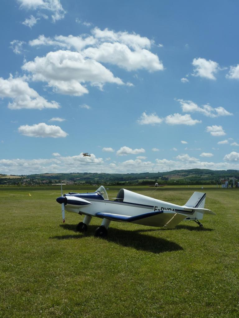 3 Pyba, jour le plus long à l'aérodrome de St Rambert
