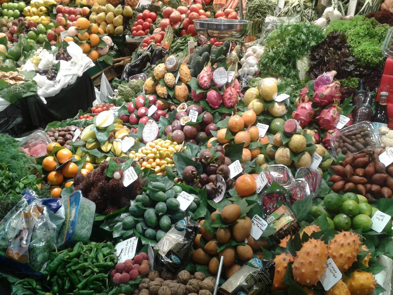 32 Marché de fruits