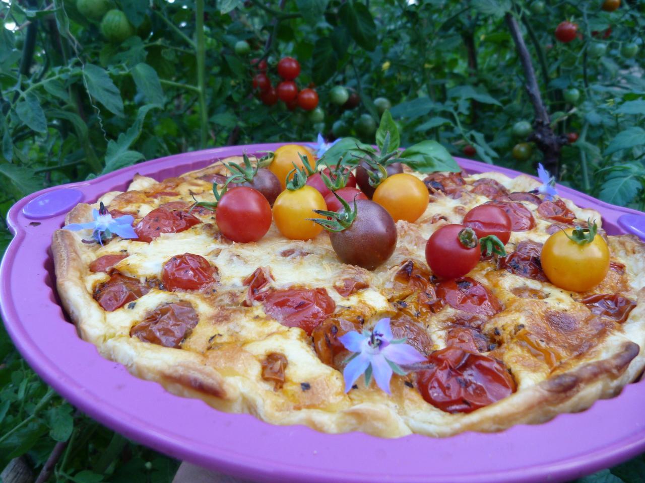 38 Tarte aux tomates