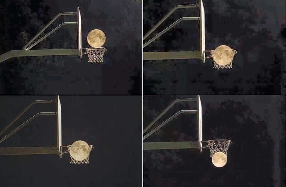 9 Quand la lune fait du sport