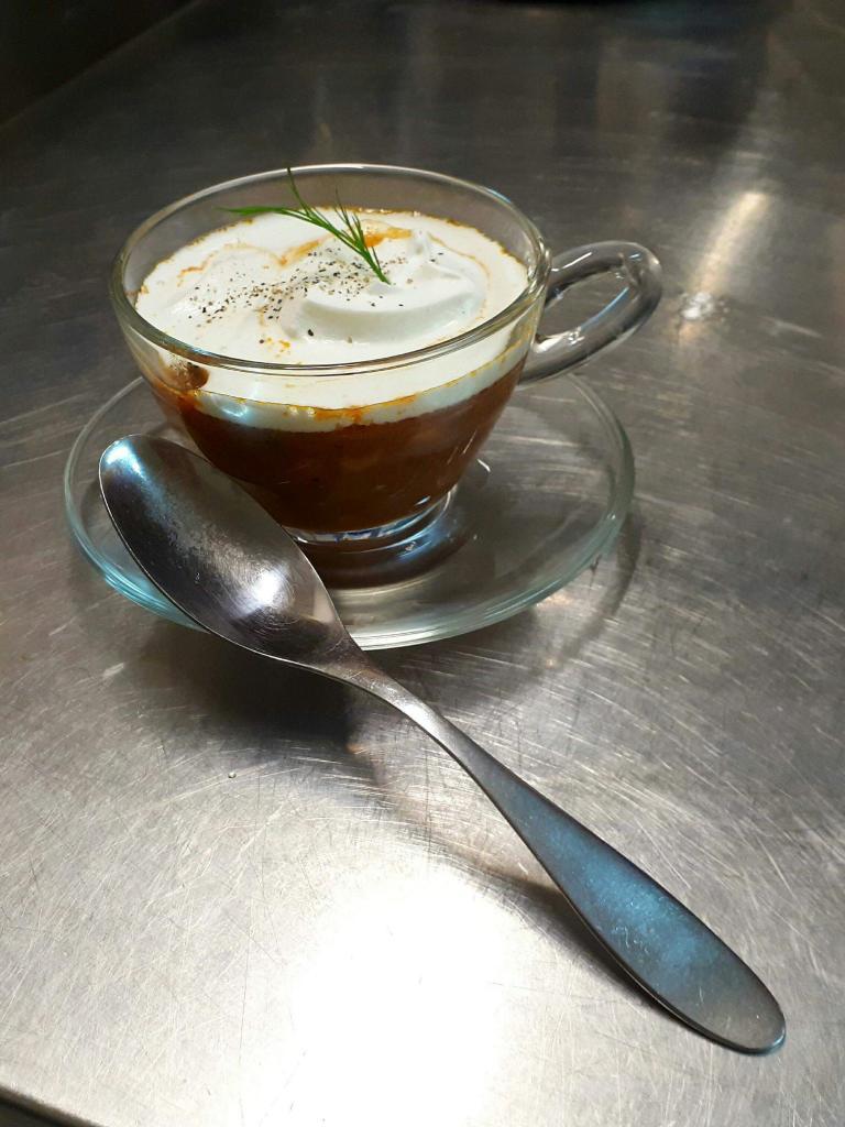 Cappuccino de la mer