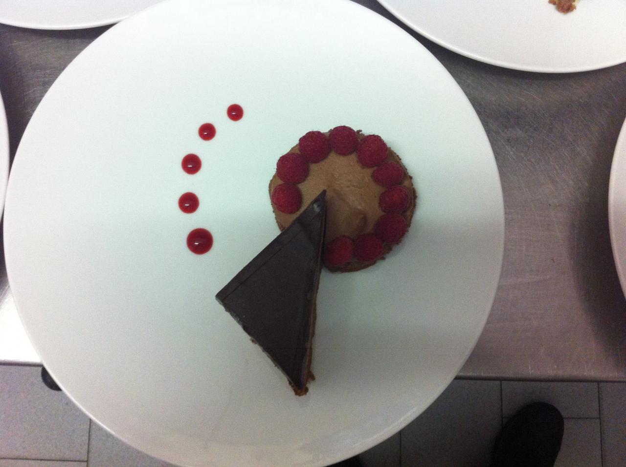 Pavé au chocolat Valrhona