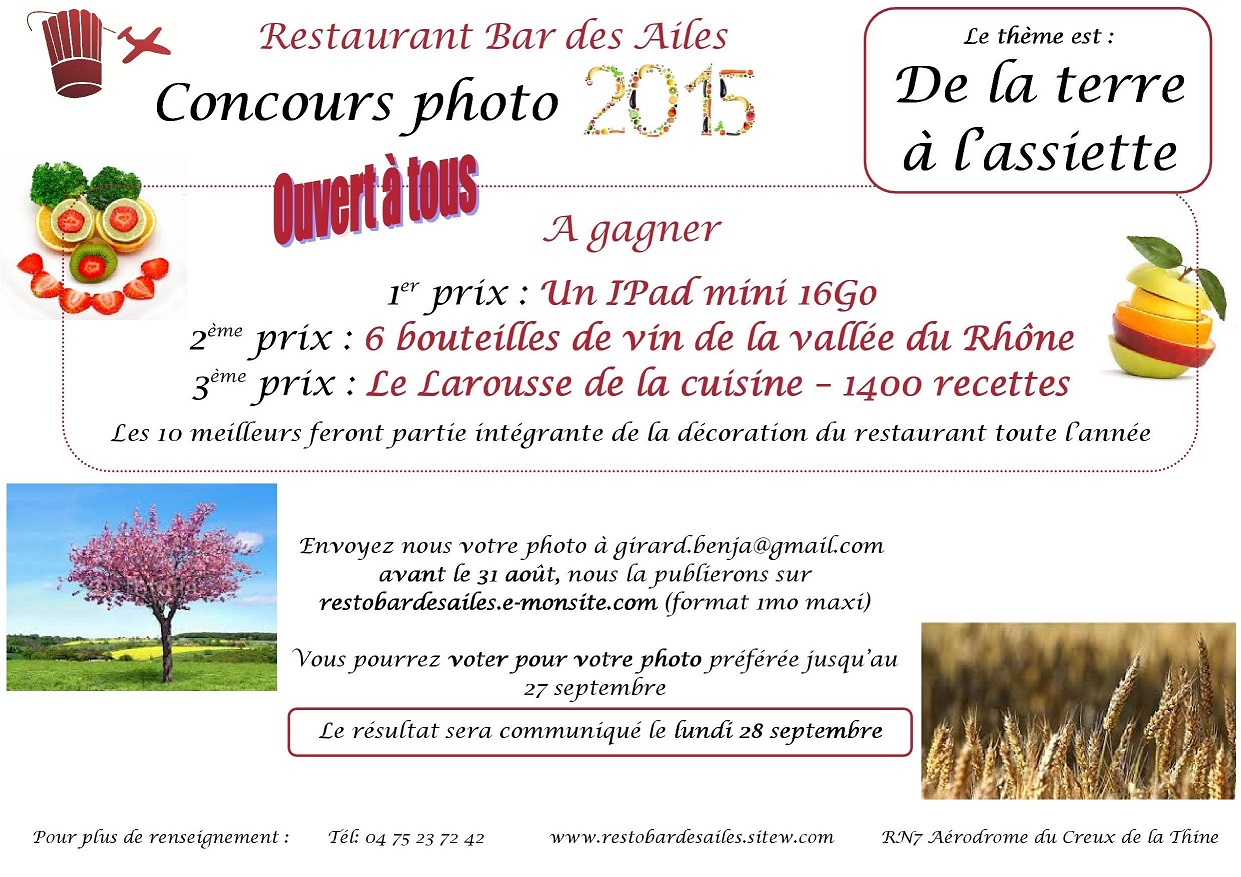 2015 concours photo